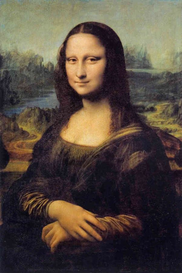 Mona Lisa 6' x 9' (1,83m x 2,75m)