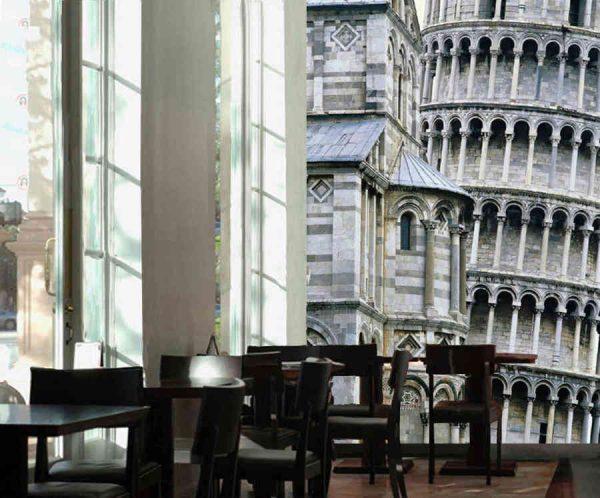 Tower of Pisa 6' x 9' (1,83m x 2,75m)