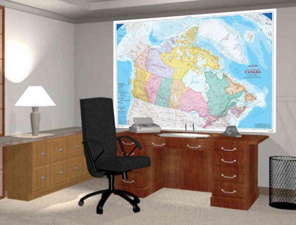 Canada (Bilingual) 7.5' x 5.8' (2,29m x 1,73m)