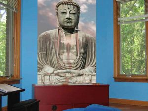 Great Buddha of Kamakura, Japan 4.5' x 7' (1,37m x 2,13m)