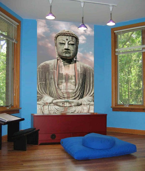 Great Buddha of Kamakura, Japan 4.5' x 7' (1,37m x 2,13m)