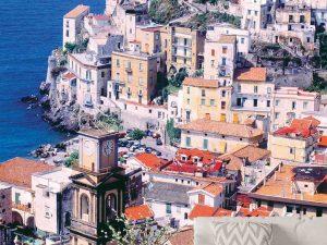 Amalfi Coast, Campania, Italy 6' x 8' (1,83m x 2,44m)