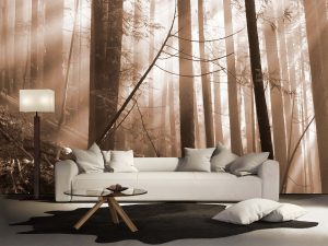 Old Forest (Sepia) 12' x 8' (3,66m x 2,44m)