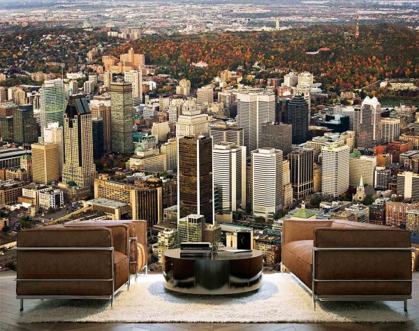 Montreal, One Morning in the Fall 12' x 8' (3,66m x 2,44m)