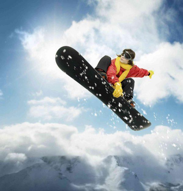 Snowboard 7.5' x 8' (2,29m x 2,44m)