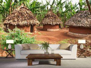 African Huts 12' x 8' (3,66m x 2,44m)