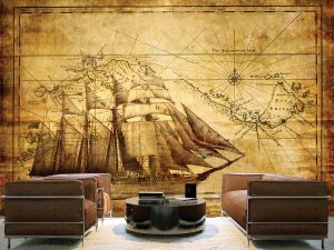 Tall Ship 12' x 8' (3,66m x 2,44m)
