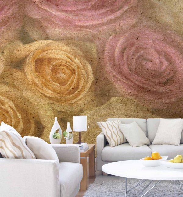 Large Roses 9' x 8' (2,75m x 2,44m)