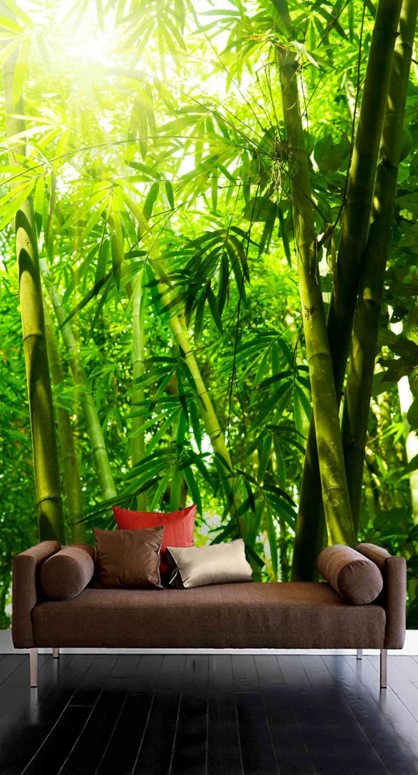 Bamboo Leaves 6' x 9' (1,83m x 2,75m)