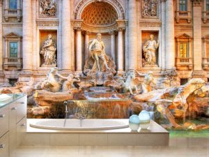 Trevi Fountain 12' x 8' (3,66m x 2,44m)