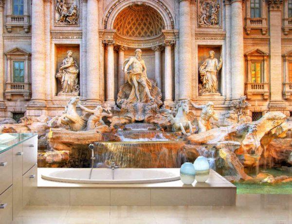Trevi Fountain 12' x 8' (3,66m x 2,44m)