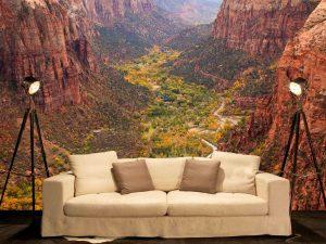 Zion Canyon in Utah 12' x 8' (3,66m x 2,44m)