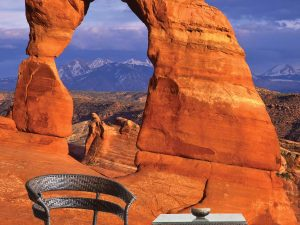 Arches National Park in Utah 6' x 8' (1,83m x 2,44m)