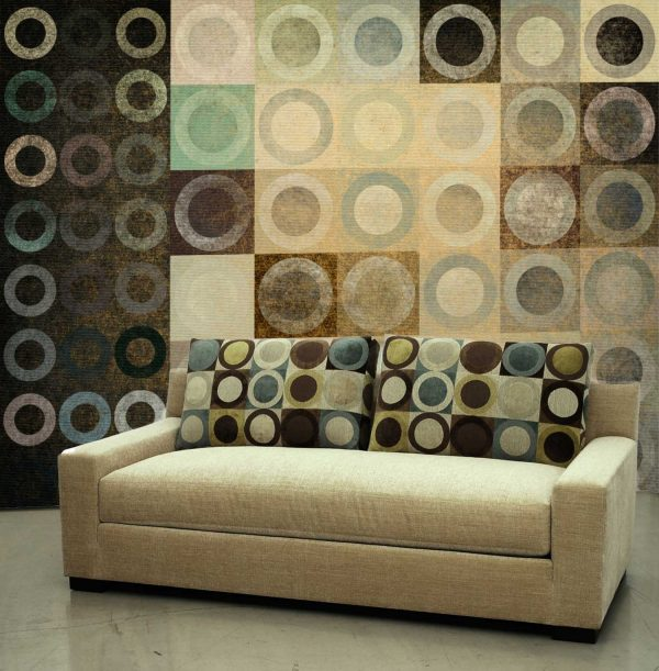 Circles in Squares 12' x 9' (3,66m x 2,75m)