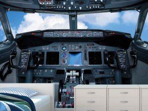 Cockpit 7.5' x 7.5' (2,29m x 2,29m)