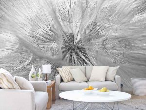 Fragility (Black and White) 12' x 8' (3,66m x 2,44m)
