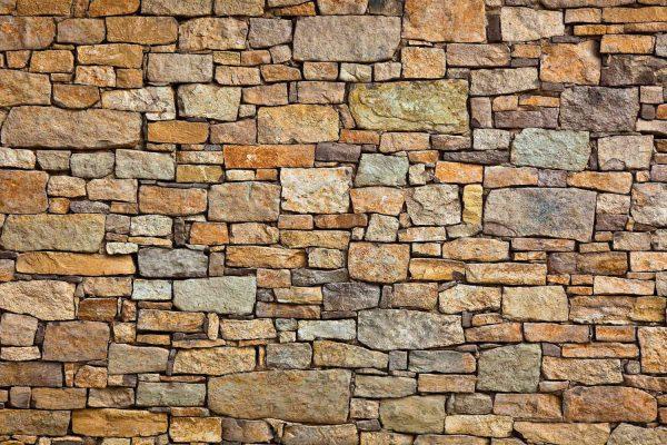 Brown Stone Wall 12' x 8' (3,66m x 2,44m)