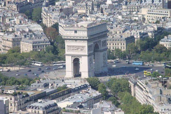 Arc de Triomphe 12' x 8' (3,66m x 2,44m)