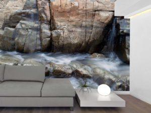 Waterfalls, Rawdon, Québec 12' x 9' (3,66m x 2,75m)