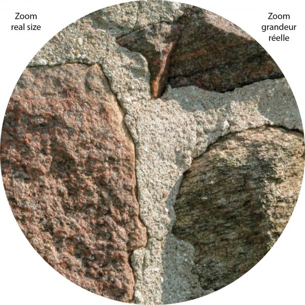 Field Stone Wall 12' x 8' (3,66m x 2,44m)