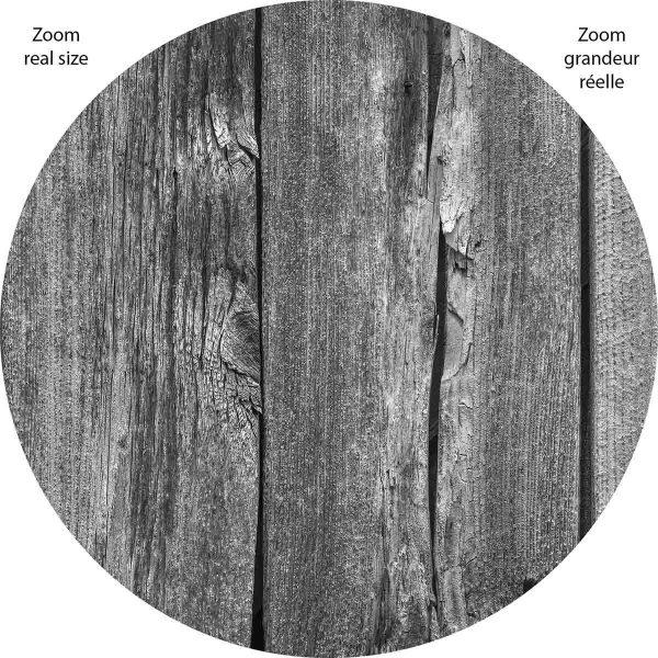 Barn Wall (Black and White) 12' x 8' (3,66m x 2,44m)