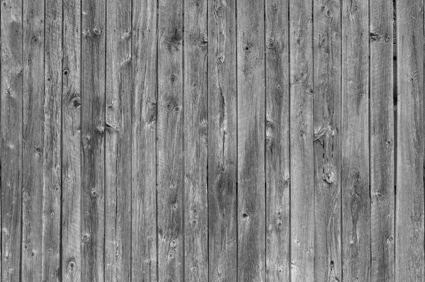 Barn Wall (Black and White) 12' x 8' (3,66m x 2,44m)