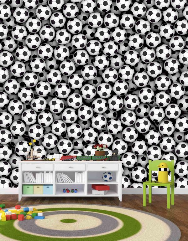 Soccer Balls 9' x 9' (2,75m x 2,75m)
