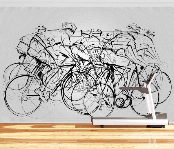 Bike Race 12' x 8' (3,66m x 2,44m)
