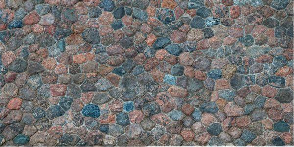 Old Field Stone Wall 18' x 9' (5,50m x 2,75m)