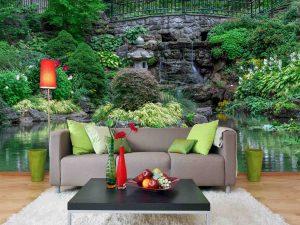 Garden in High Park, Toronto 12' x 8' (3,66m x 2,44m)