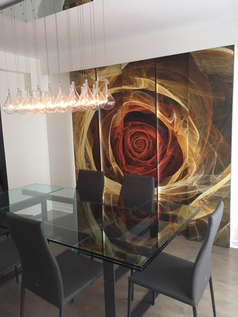 Fractal Rose 12' x 8' (3,66m x 2,44m)