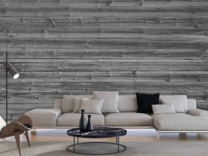 Horizontal Barn Wall (Black and White) 15' x 9' (4,57m x 2,75m)