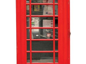 Phone Booth 4.5' x 8' (1,37m x 2,44m)