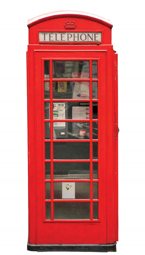 Phone Booth 4.5' x 8' (1,37m x 2,44m)