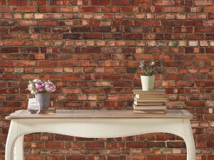 Old Brick Wall 36' x 9' (11,00m x 2,75m)