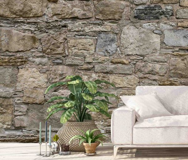 Castle Stones 15' x 8' (4,57m x 2,44m)
