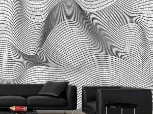 Geometric Waves 9' x 9' (2,75m x 2,75m)