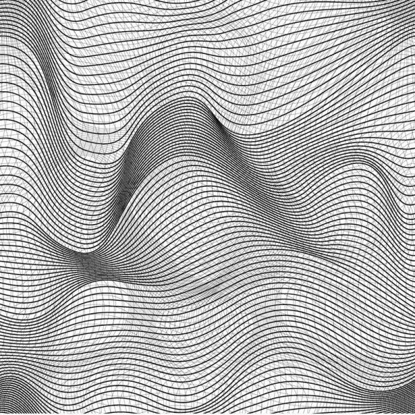 Geometric Waves 9' x 9' (2,75m x 2,75m)