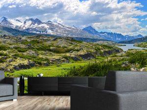 Alaskan Mountains 18' x 8' (5,50m x 2,44m)