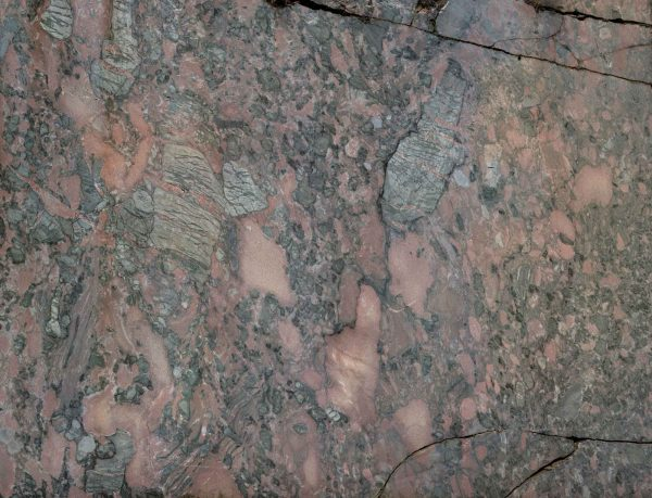 Cracked Marble Rock Face 12' x 9' (3,66m x 2,75m)