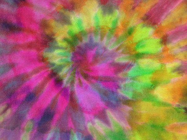 Pastel Tie-Dye Fabric 10.5' x 8' (3,20m x 2,44m)