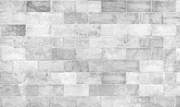 Marble Blocks (Black and White) 15' x 9' (4,57m x 2,75m)