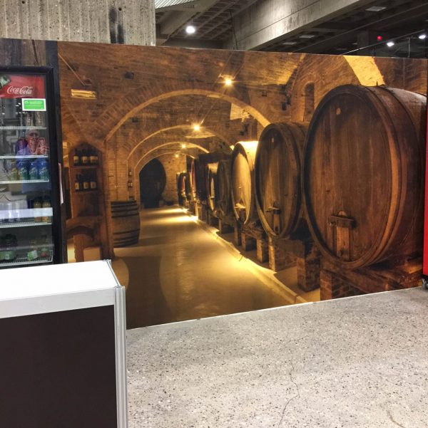 Wine Cellar in Tuscany 12' x 8' (3,66m x 2,44m)