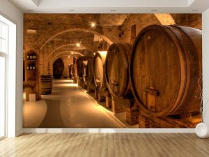Wine Cellar in Tuscany 12' x 8' (3,66m x 2,44m)