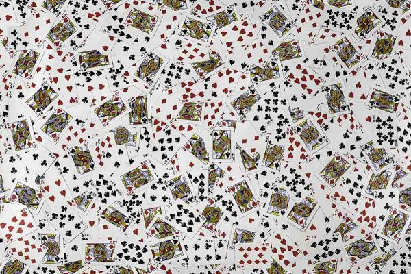 Playing Cards 12' x 8' (3,66m x 2,44m)