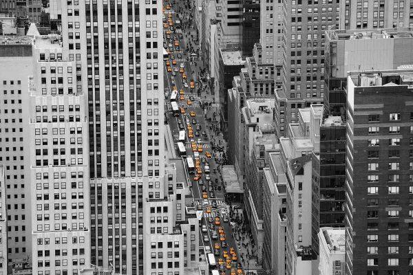 Another Day in Manhattan 12' x 8' (3,66m x 2,44m)