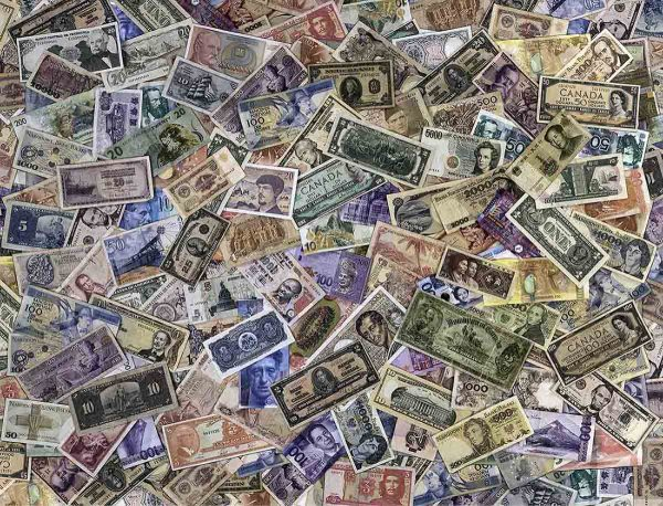 Banknote Collection 10.5' x 8' (3,20m x 2,44m)