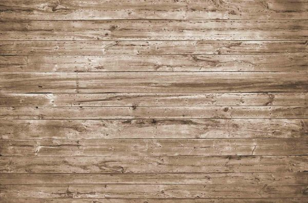 Horizontal Old Barn Wood (Brown) 12' x 8' (3,66m x 2,44m)