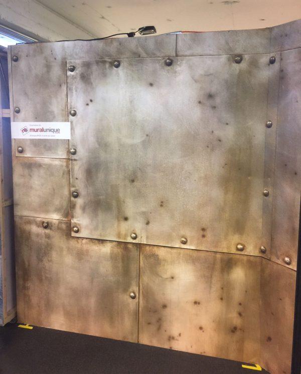Riveted Metal (Copper) 12' x 8' (3,66m x 2,44m)