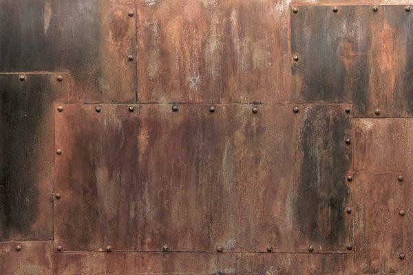Riveted Metal 12' x 8' (3,66m x 2,44m)